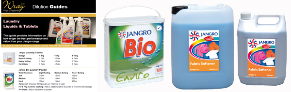 jangro laundry dilution tips