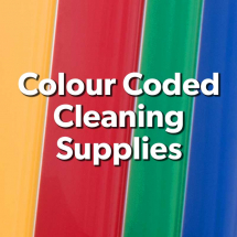 Colour Coded Cleaning Products