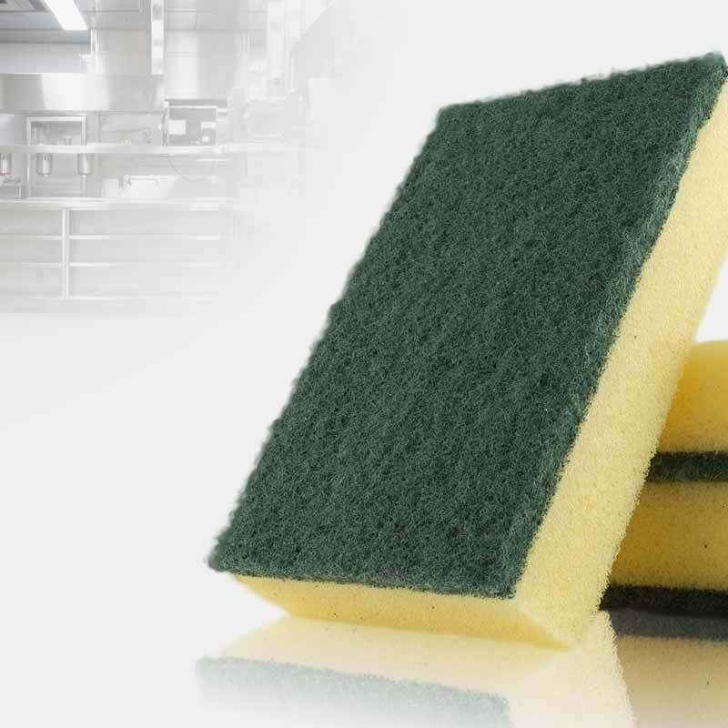 Scouring Pads and Sponges