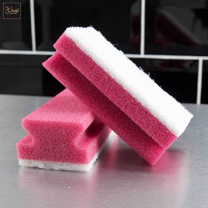 Easigrip Colour Sponge Scourers x 10