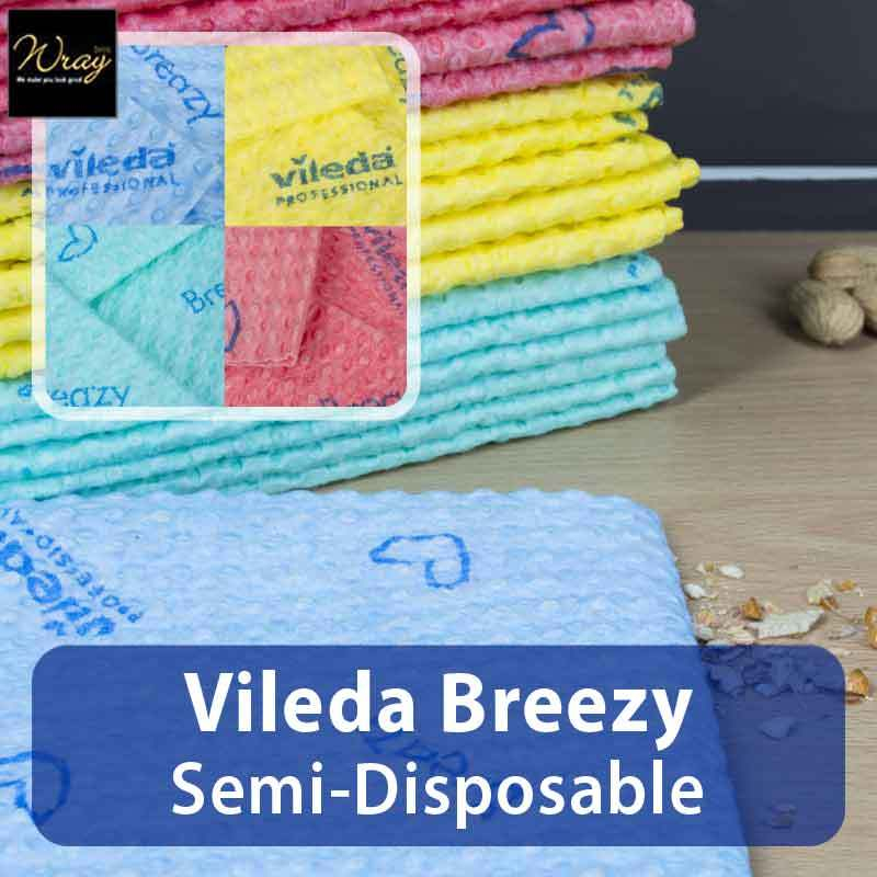 Vileda Breazy Semi-Disposable Cloth x 20