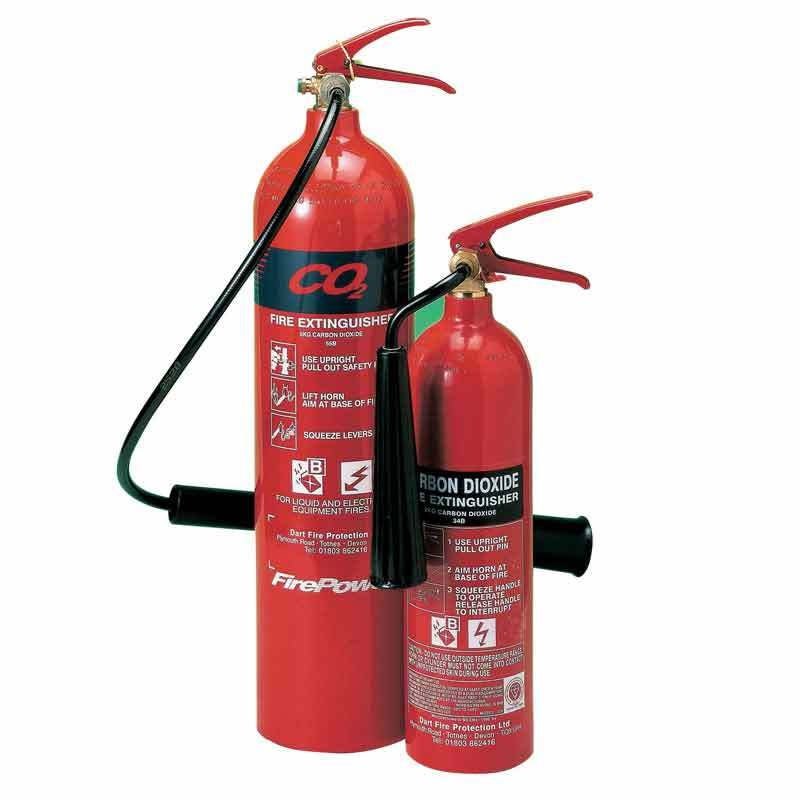 CO2 Gas Fire Extinguisher