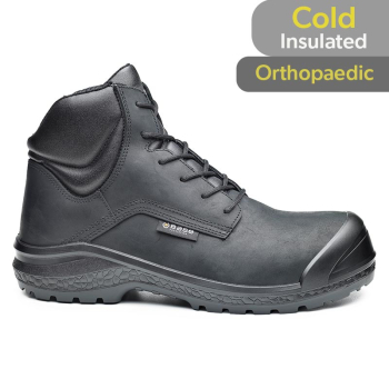 Base Be-Jetty S3 Black Safety Boots B0883