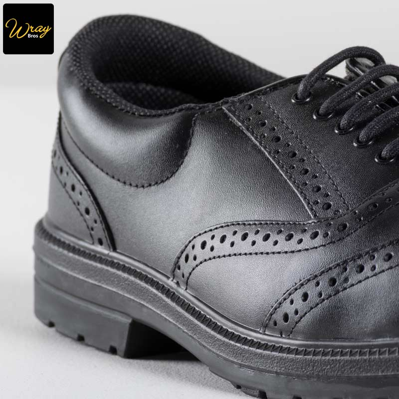 Portwest Leather Executive Safety Brogue Shoe Boots Slip Resistant Workwear FW46