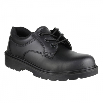 Amblers Black Safety Shoe S1P SRC FS41