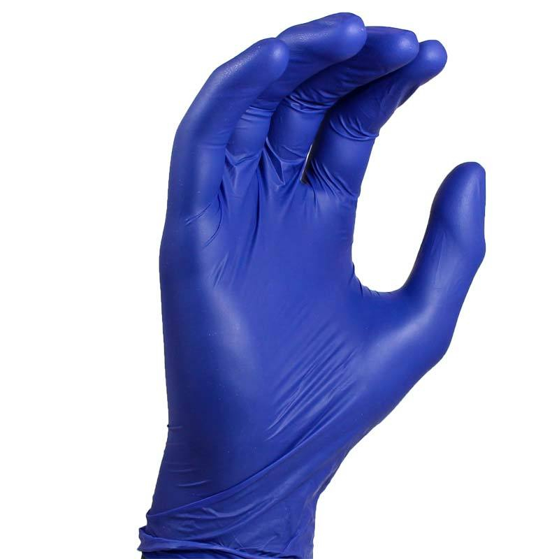 Blue Powder Free Nitrile Examination Gloves