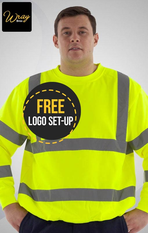 Portwest High Vis Sweatshirt B303