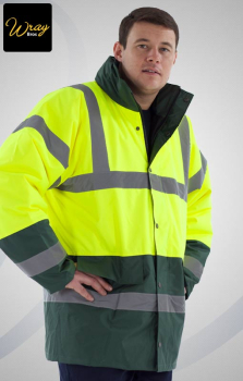 Portwest Hi Vis Contrast Traffic Jacket S466