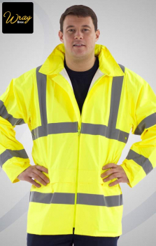 Portwest High Vis Rain Jacket H440