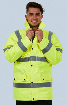 Uneek High Vis Road Safety Jacket UC803