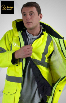 Portwest High Vis 7-in-1 Traffic Jacket S427