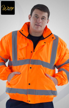 Uneek High Vis Bomber Jacket UC804