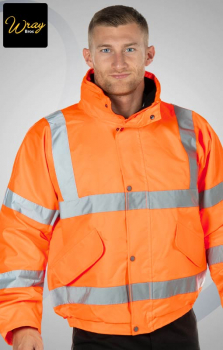 Portwest Hi-Vis Breathable Bomber Jacket RT62