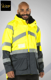 Portwest Hi-Vis 2-Tone Breathable Jacket S760