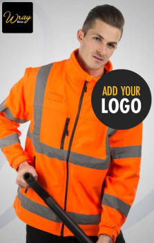 Portwest Hi Vis 3 Layer Softshell Jacket S428