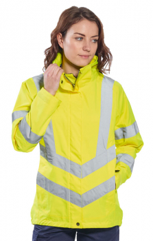 Portwest Ladies Hi-Vis Breathable Jacket LW70