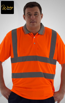 Uneek High Vis Polo Shirt UC805