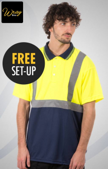 Portwest Hi Vis Two-Tone Polo S479