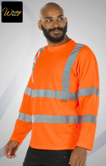 Portwest Hi Vis Long Sleeve T-shirt S278