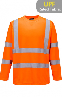 Portwest Hi-Vis Long Sleeve T-Shirt S178