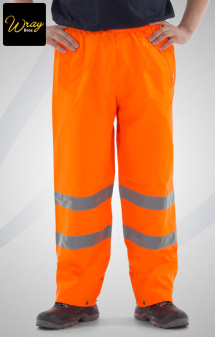 High Vis Orange Trousers