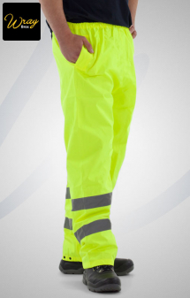 Uneek High Vis Trousers UC807