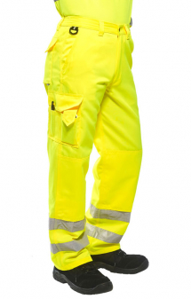Portwest Hi Vis Combat Trousers E046