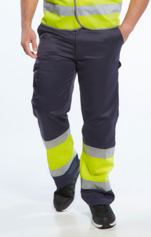 Portwest Hi Vis Two Tone Combat Trousers E049