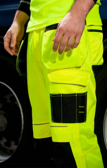 Portwest PW3 Hi-Vis Holster Work Trouser T501