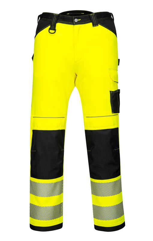 Portwest PW3 Hi-Vis Work Trousers PW340