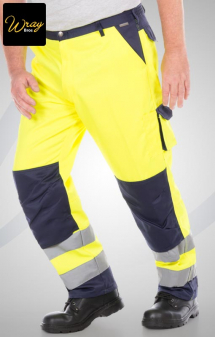 Portwest Lyon Hi-Vis Trousers TX51