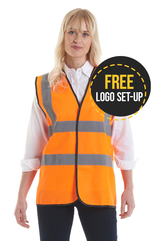 High Vis Vest 2 Band