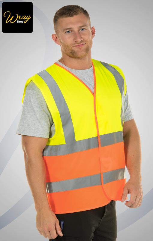 Portwest Two Tone Hi Vis Vest C481