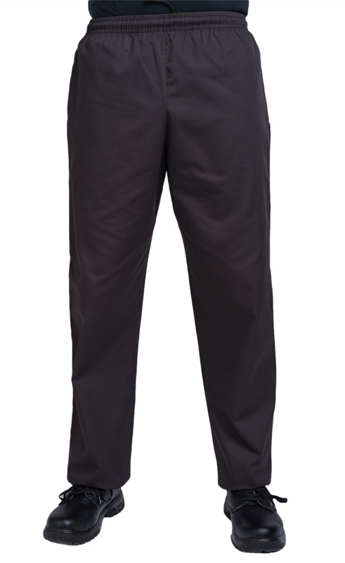 Dennys Budget Black Chef Trousers