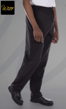Dennys Unisex Elasticated Chefs Trousers