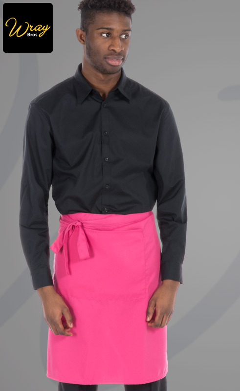 Dennys Colour Waist Apron with Pocket