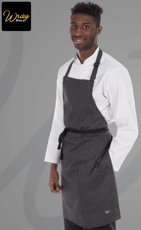 Le Chef Prep Bib Aprons in Woven Designs