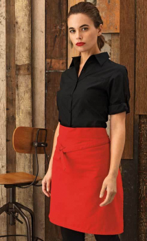 Premier Ladies Roll Sleeve Poplin Blouse PR306