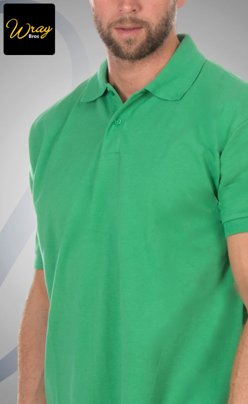 AWD Mens Cool Breathable Polo Shirt JC040