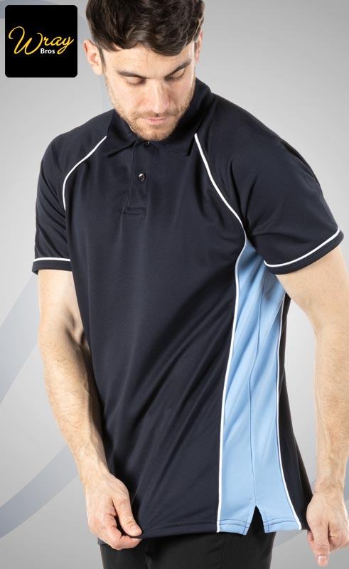 Piped Performance Polo Shirt LV370