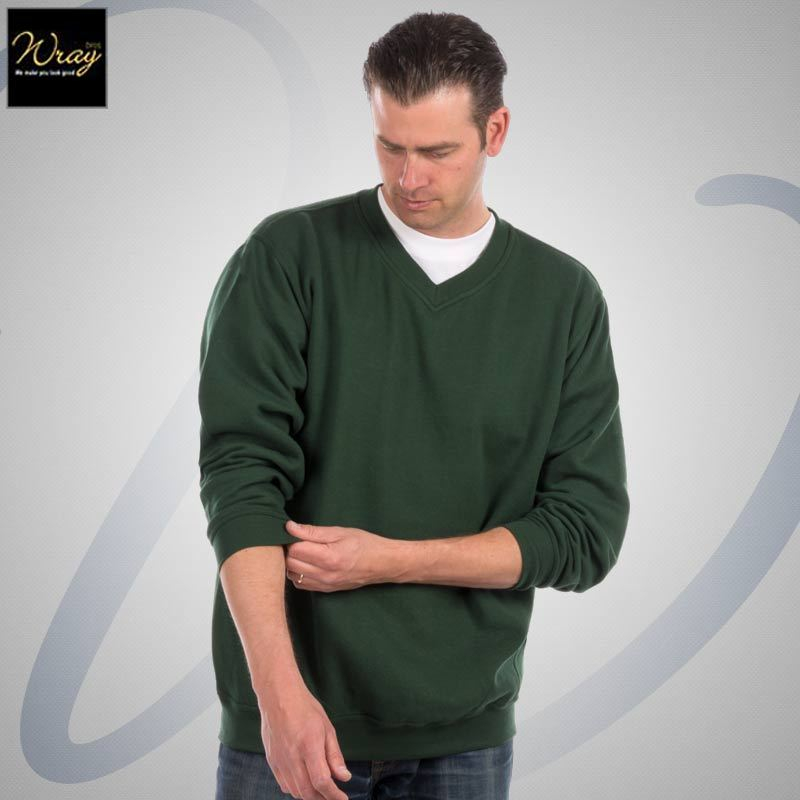 Uneek Premium V-Neck Sweatshirt UC204