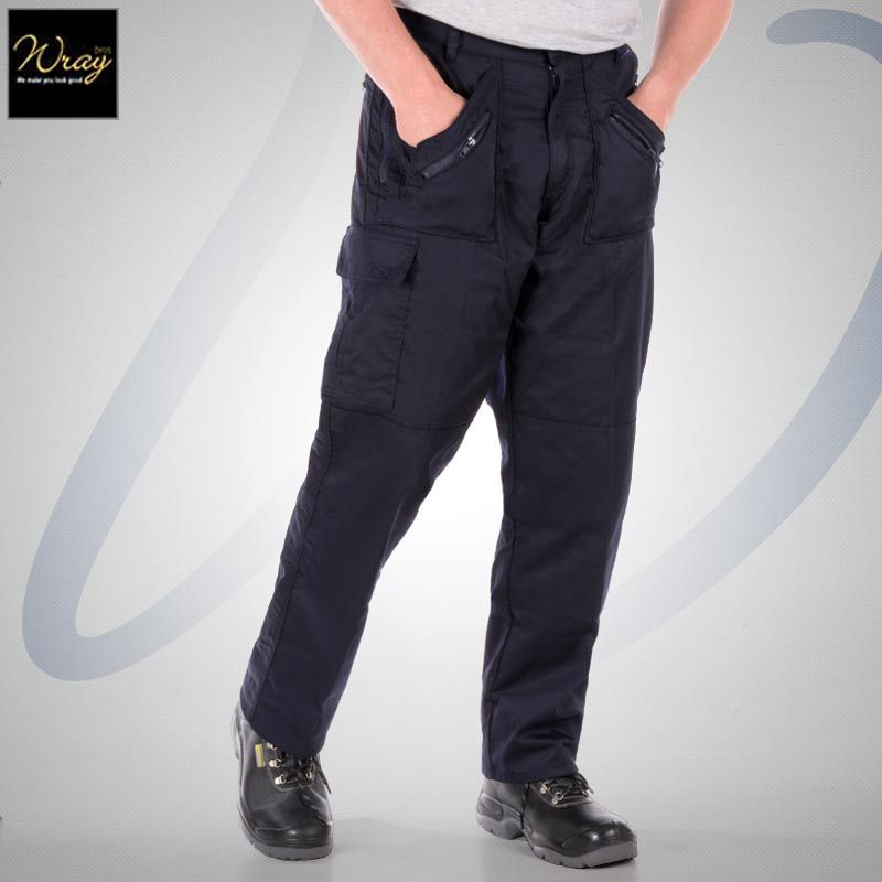 Action Trousers with Kneepad Pockets S887