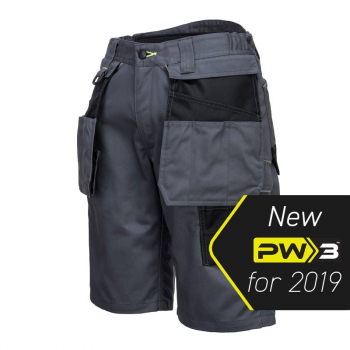 Portwest PW3 Work Shorts PW345