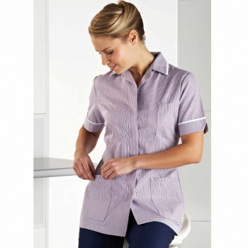 Women's Stripe Nurse Tunic R3