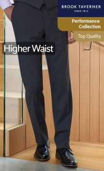 Brook Taverner Aldwych Flat Front Trouser
