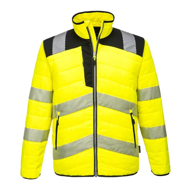 Portwest PW3 Hi-Vis Baffle Jacket PW371