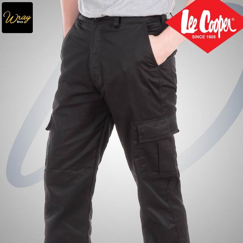 8a8da8f4c7 Lee Cooper Cargo Trousers LCPNT205 - Wray Bros