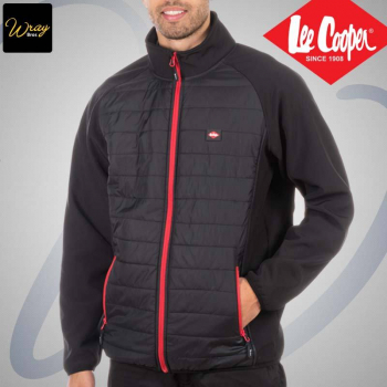 Lee Cooper Quilted Jacket LCJKT442