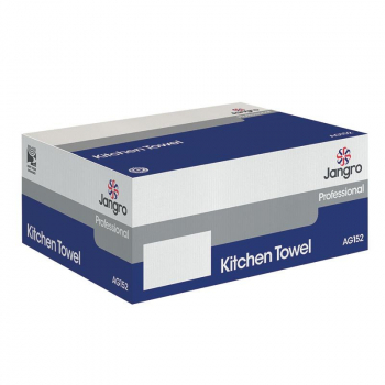 Kitchen Roll Towel Blue x 12