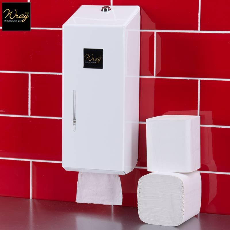 Bulk Pack Toilet Tissue Dispenser Metal Large